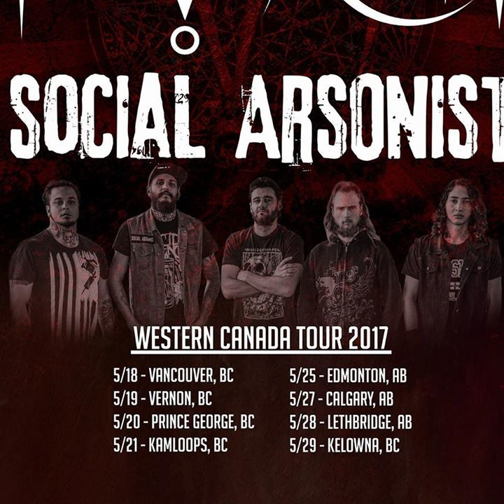 Social Arsonist Tour Dates