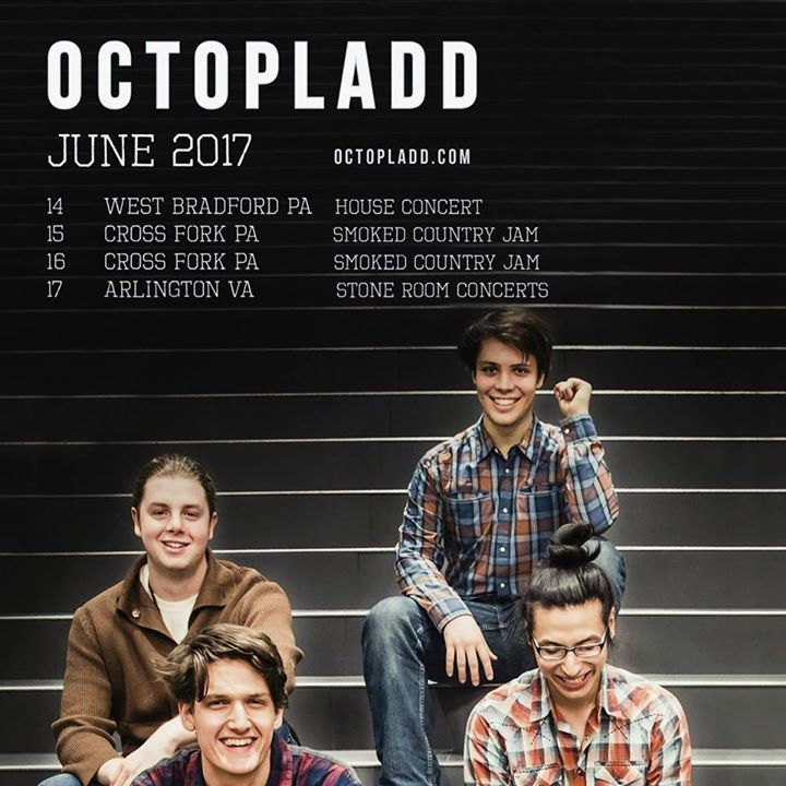 OctoPladd Tour Dates