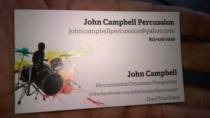 John Campbell Percussion @ JF Kicks - Valrico, FL