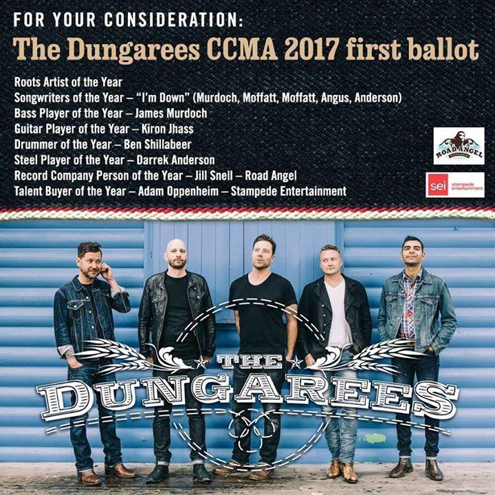 The Dungarees Tour Dates