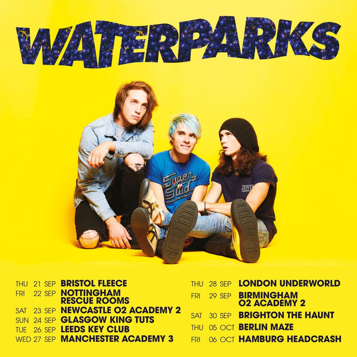 Waterparks @ Rescue Rooms - Nottingham, United Kingdom