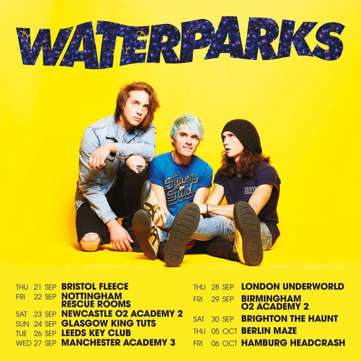 Waterparks @ O2 Academy 2 - Newcastle Upon Tyne, United Kingdom