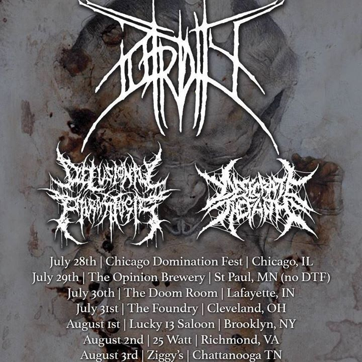 Delusional Parasitosis Tour Dates