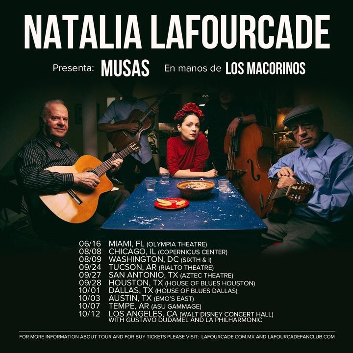 Natalia Lafourcade Yo @ House of Blues Dallas - Dallas, TX