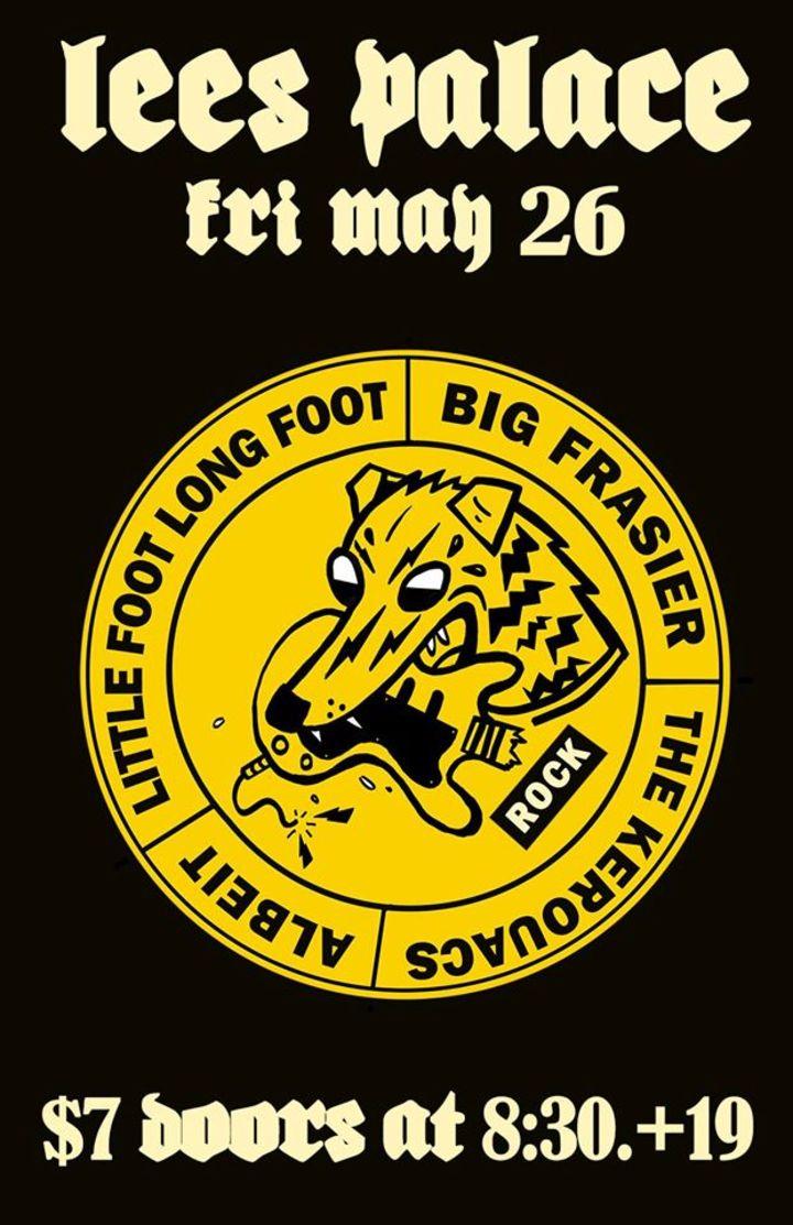 Little Foot Long Foot Tour Dates