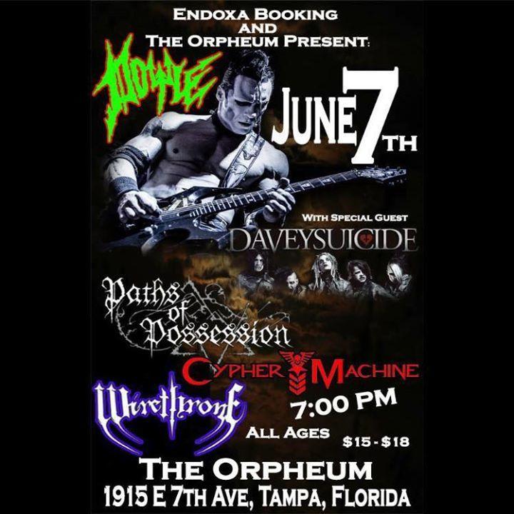Wirethrone Tour Dates