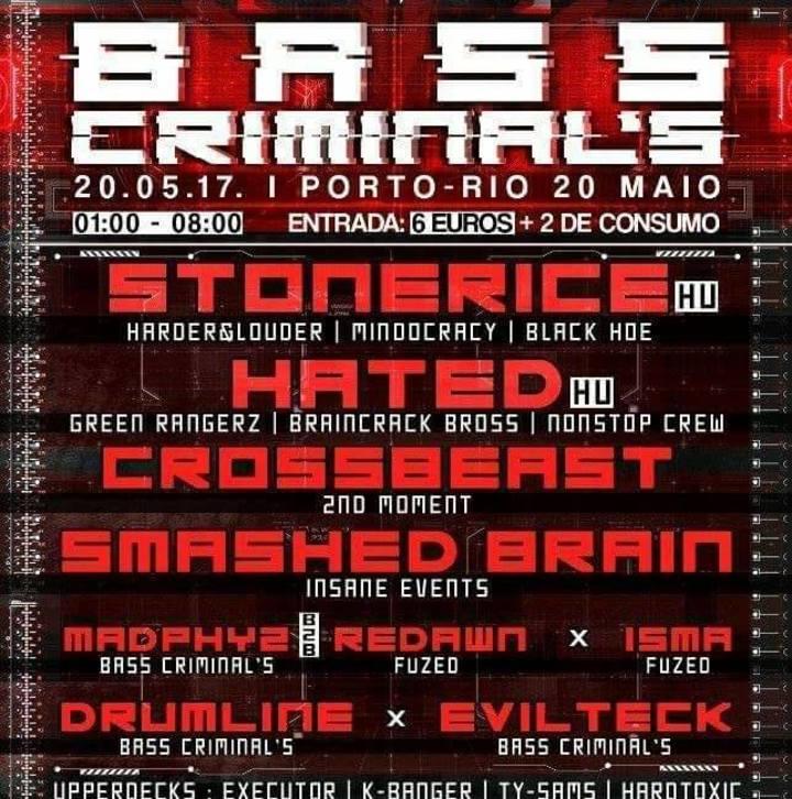 djdrumLine Tour Dates