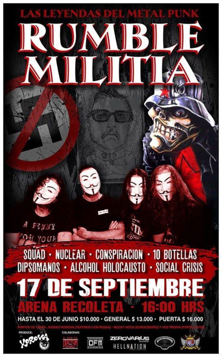 Nuclear @ Arena Recoleta - Santiago, Chile