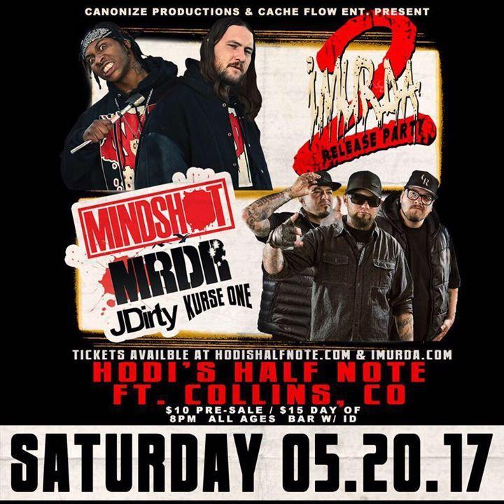 Mindshot Tour Dates