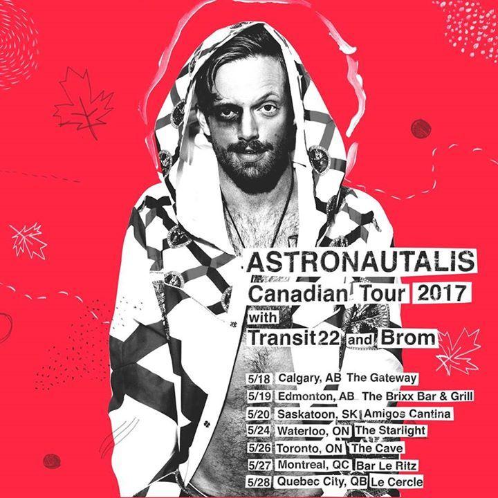 Astronautalis @ Club Firley - Wrocław, Poland