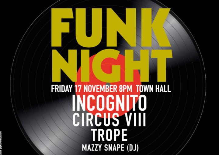 Incognito @ TOWN HALL - Birmingham, United Kingdom