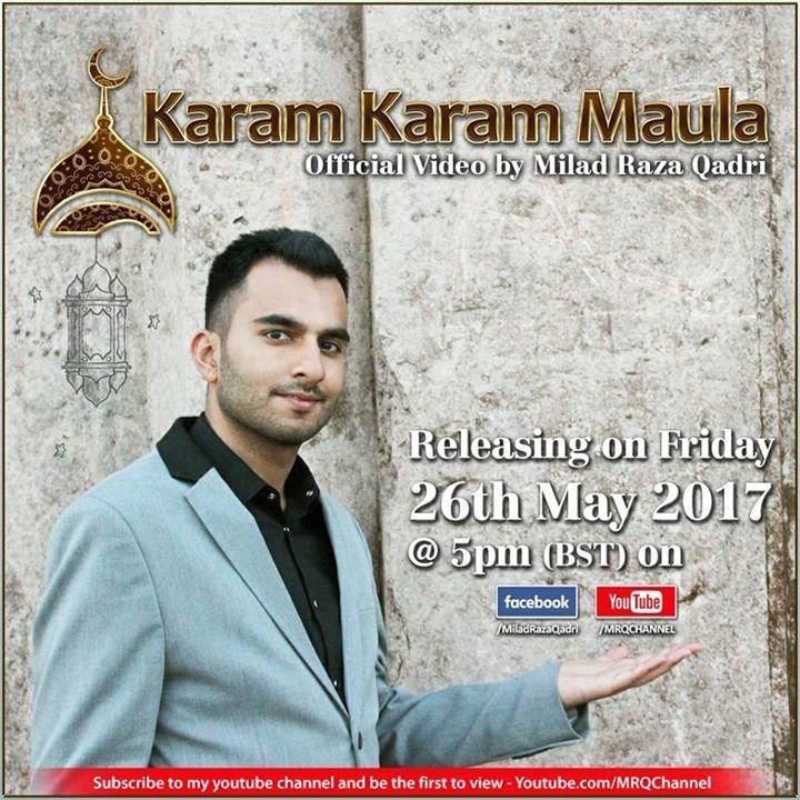 Milad Raza Qadri - MRQ Tour Dates