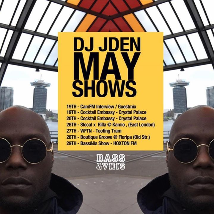 DJ JDen Tour Dates