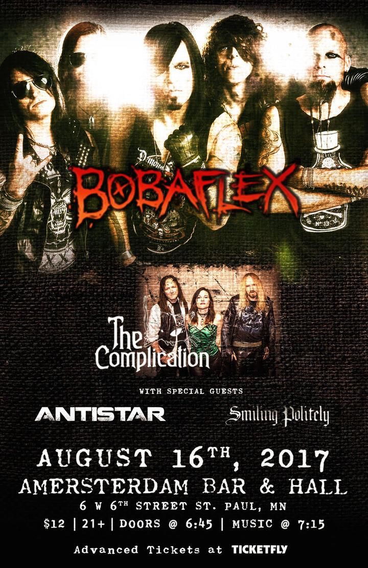 Bobaflex @ Amsterdam Bar and Hall - Saint Paul, MN