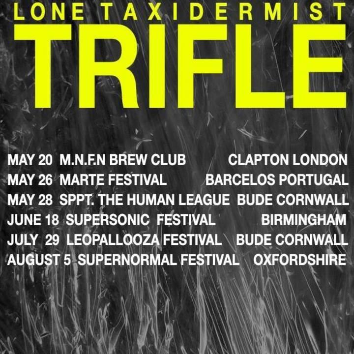 The LONE Tax±derm±st Tour Dates