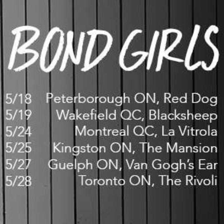 Bond Girls Tour Dates