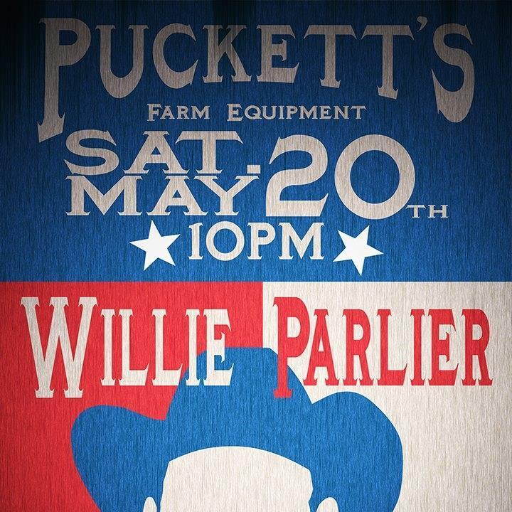 Willie Parlier Tour Dates
