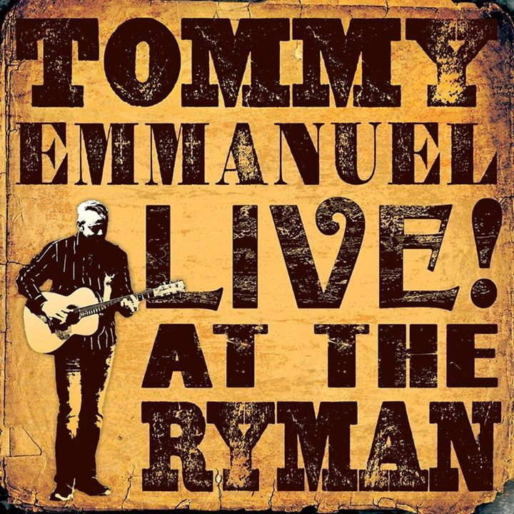 Tommy Emmanuel @ The Anvil - Basingstoke, United Kingdom
