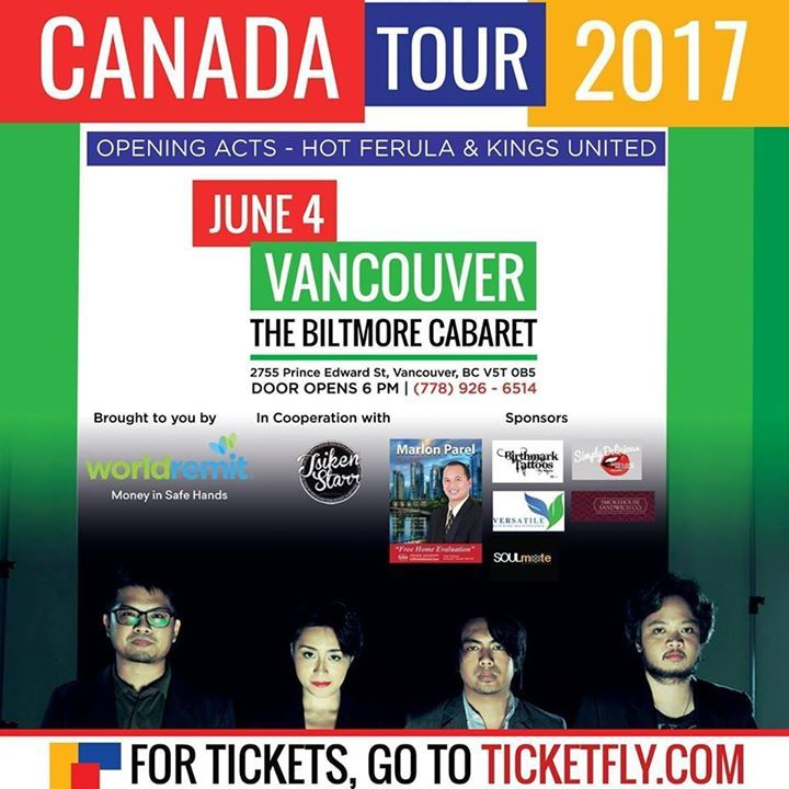 TsikenStaRR Production Tour Dates