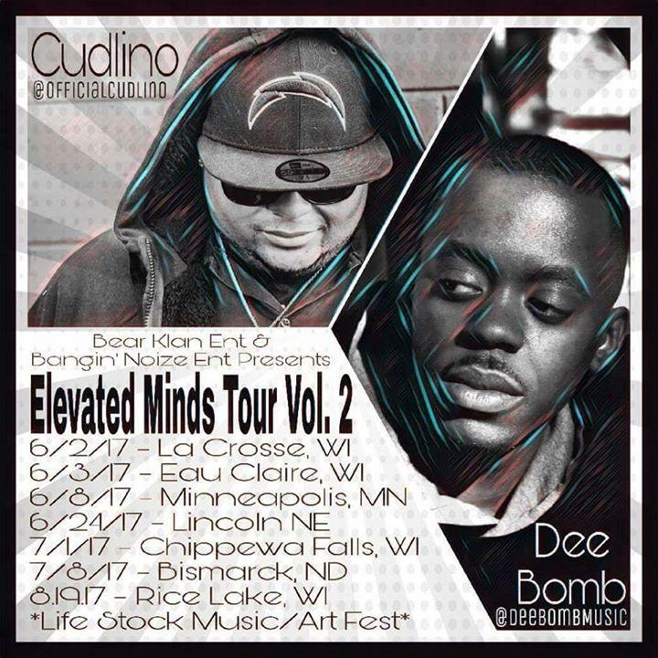 Cudlino Tour Dates