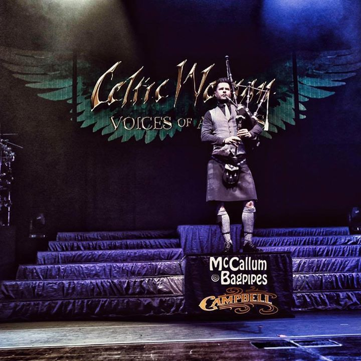 Anthony Byrne - Celtic Piper Tour Dates