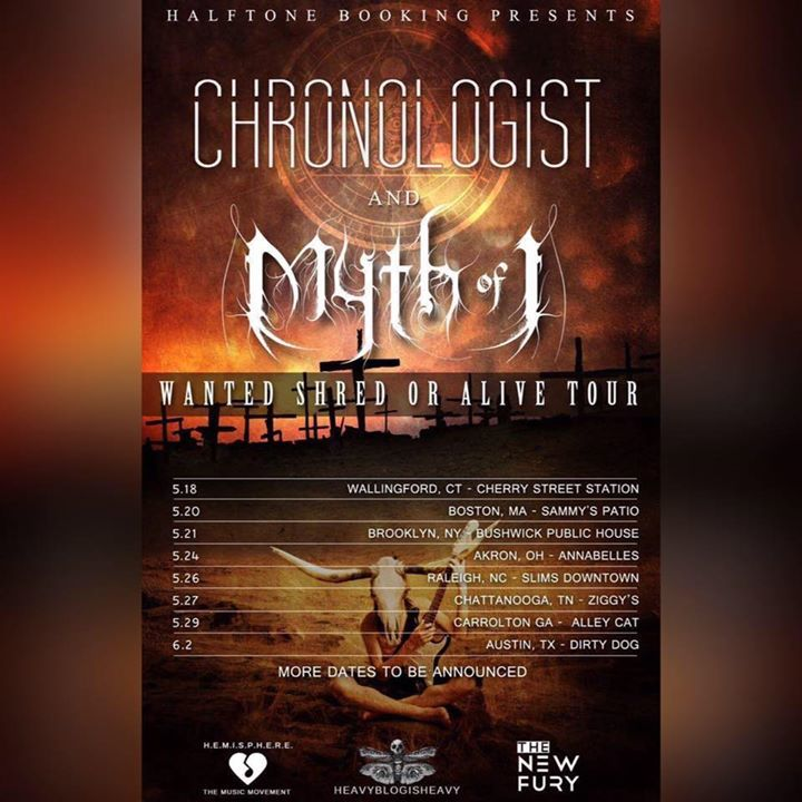 Myth of I Tour Dates
