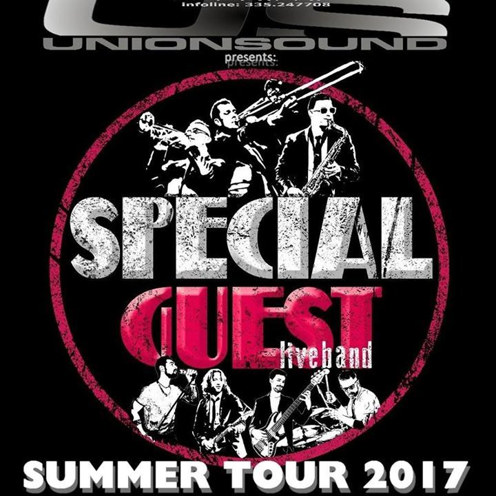 Special-Guest Live-Band Tour Dates