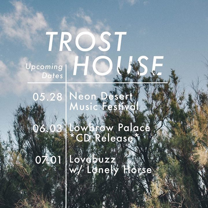 Trost House Tour Dates