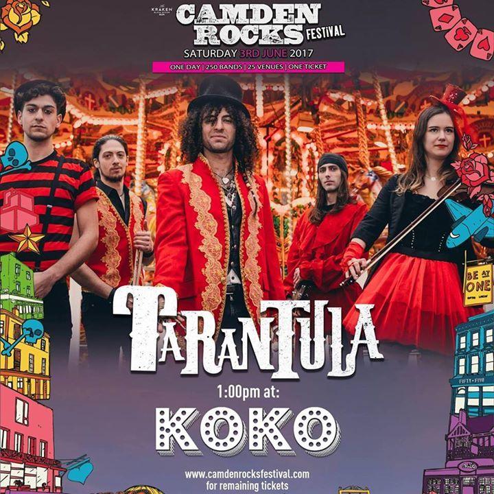 Tarantula Tour Dates