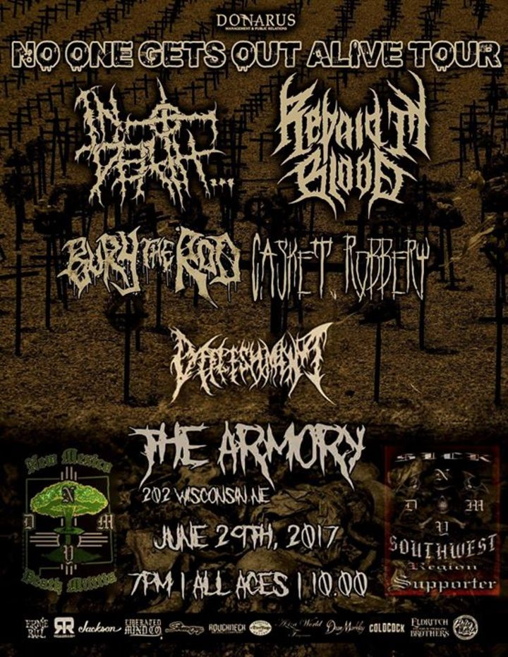 Defleshment Tour Dates