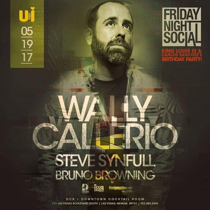 Wally Callerio Tour Dates