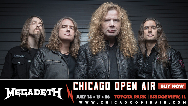 Megadeth @ Toyota Park - Bridgeview, IL