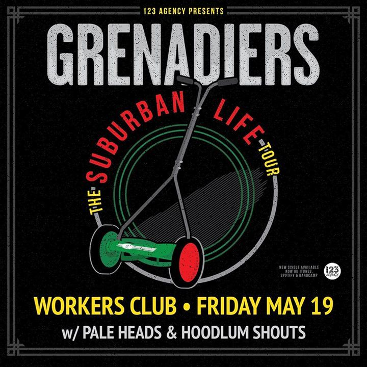 Grenadiers @ Crown and Anchor Hotel - Adelaide, Australia