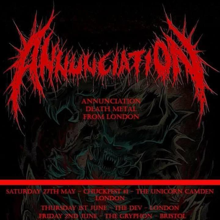 Annunciation Tour Dates