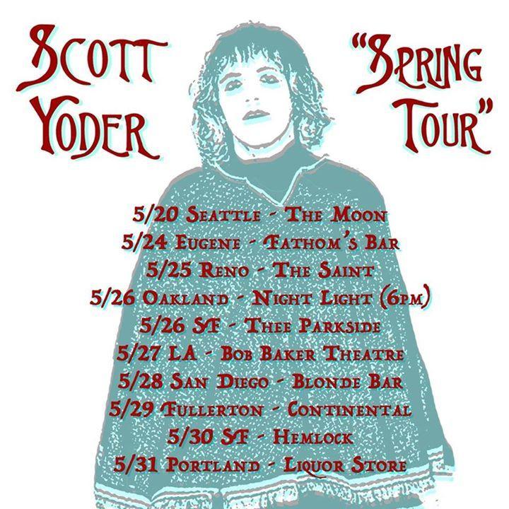 Scott Yoder Tour Dates