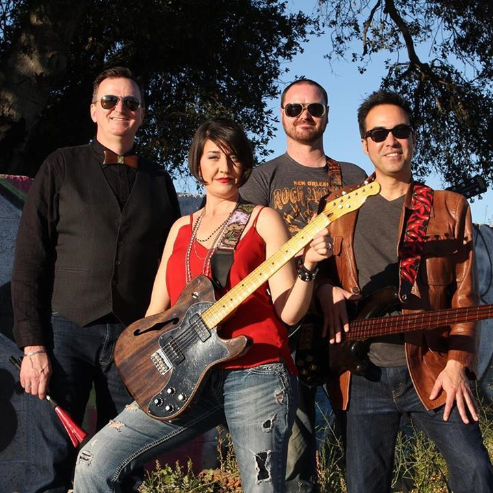 Erin and the Earthquakes @ Lefondusac Winery Bar - Paso Robles, CA