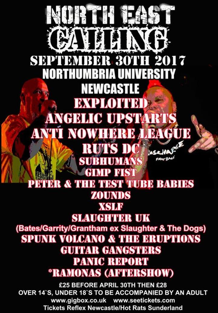 Ruts D.C. @ Northumbria University - Newcastle Upon Tyne, United Kingdom