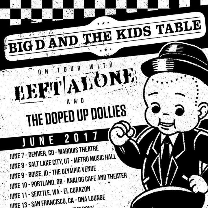 Left Alone Tour Dates