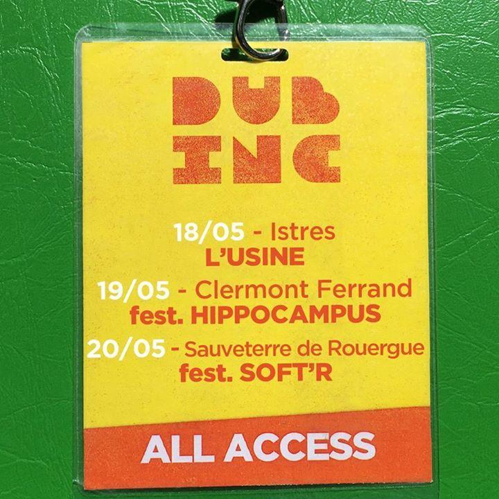 Dub Inc Tour Dates