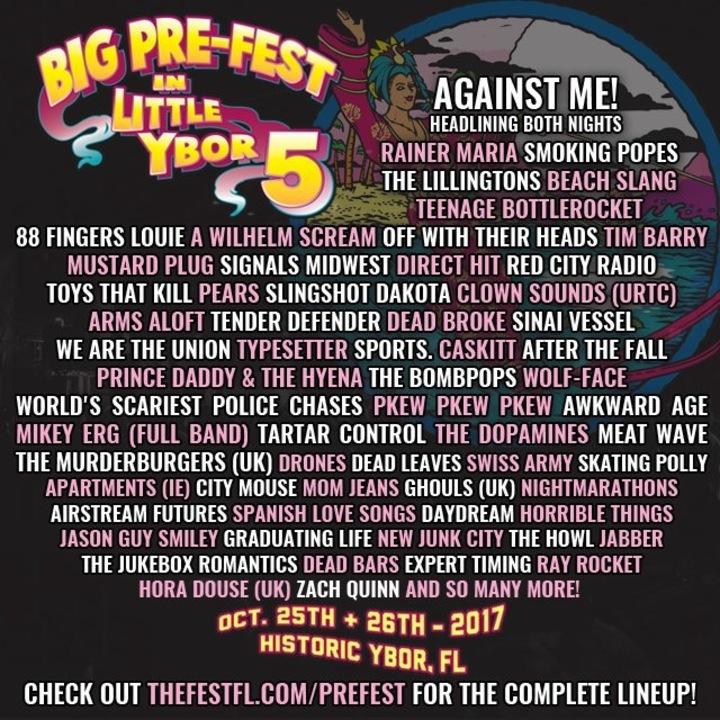 Spanish Love Songs @ Big Pre-Fest In Little Ybor - Tampa, FL
