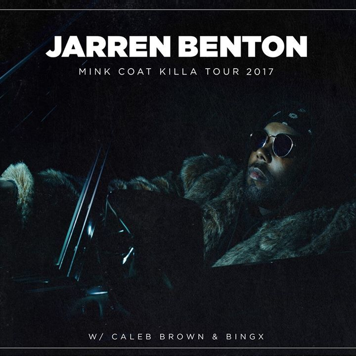 Jarren Benton @ The Blind Tiger NC - Greensboro, NC