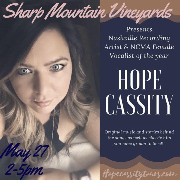 Hope Cassity Tour Dates