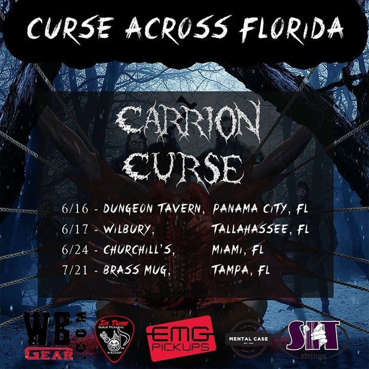 Carrion Curse Tour Dates