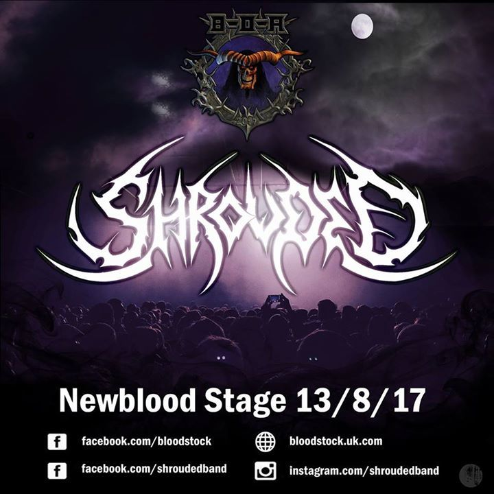 Shrouded Tour Dates