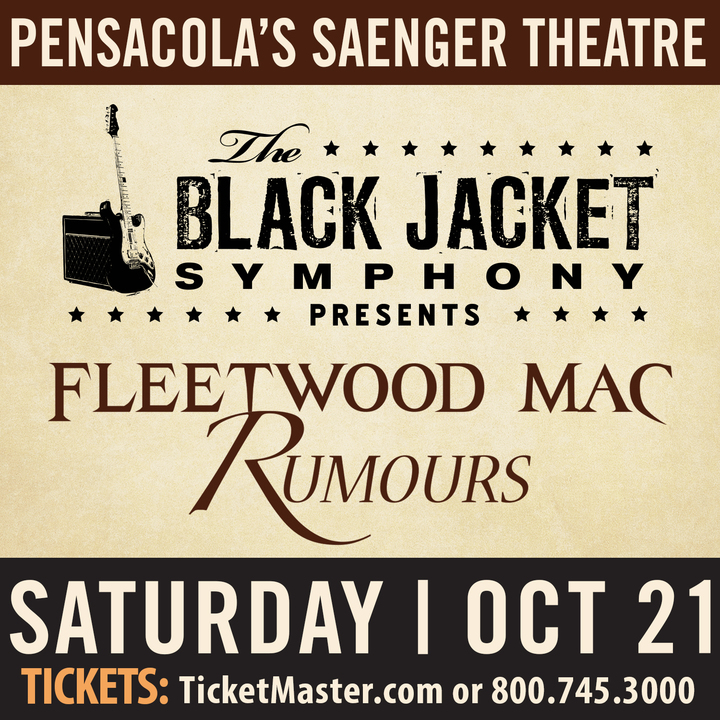 "The Black Jacket Symphony @ Saenger Theatre Pensacola - Performing Fleetwood Mac's ""Rumours"" - Pensacola, FL"