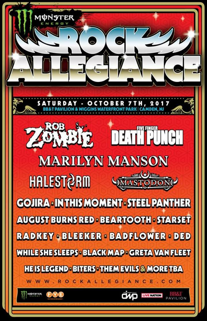 Rob Zombie @ Rock Allegiance - Camden, NJ