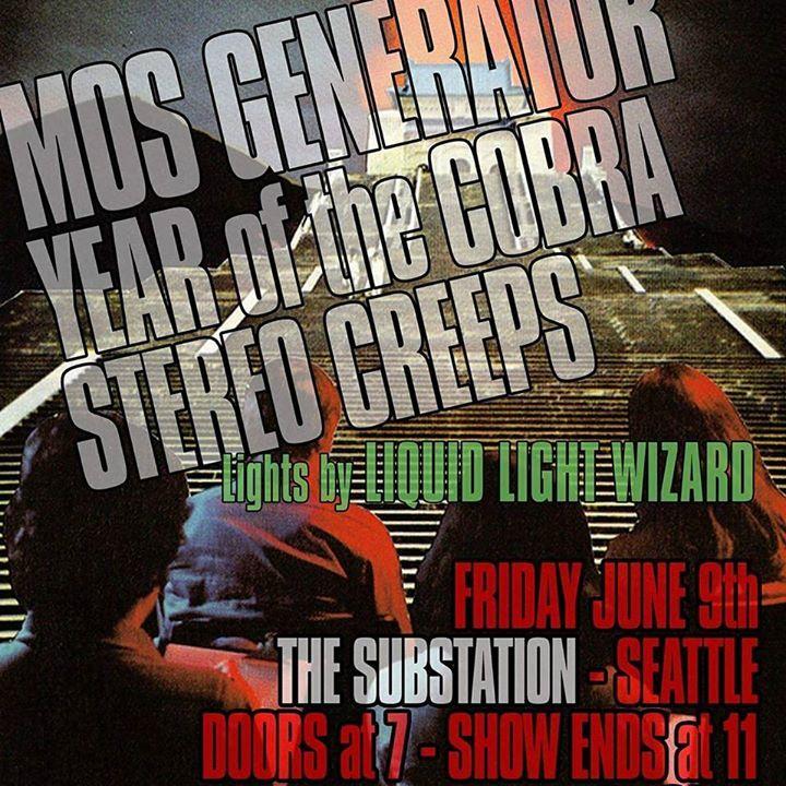 Stereo Creeps Tour Dates