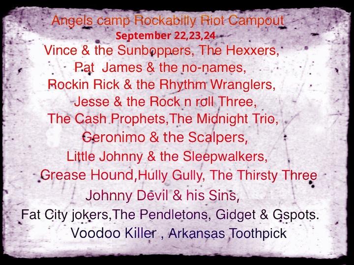Rockin Rick & the Rhythm Wranglers @ Calaveras Fairgrounds  - Angels Camp, CA