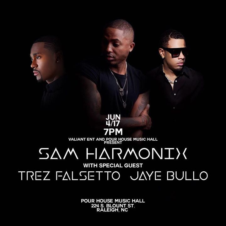 Sam Harmonix  Tour Dates