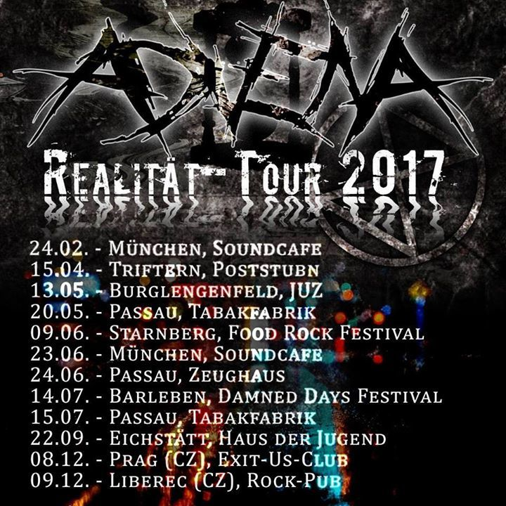 advena Tour Dates
